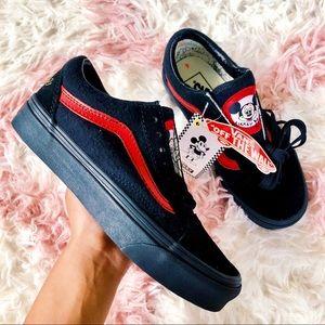 NEW Vans x Disney Mickey Old Skools Skate Shoe